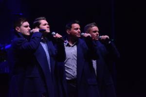 Damian McGinty, Ryan Kelly, Emmet Cahill,Neil Byrne