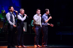 Ryan Kelly, Neil Byrne, Emmet Cahill ,Damian McGinty