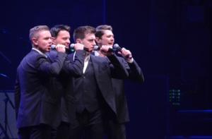 Neil Byrne, Emmet Cahill, Damian McGinty,Ryan Kelly