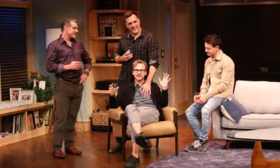 Lou Liberatore, Ryan Spahn (seated), Matthew Montelongo, Leland Wheeler