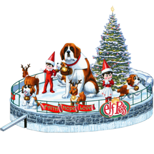 Santa's Saint Bernard Saves Christmas
