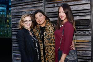 Carol Coleman, Luciana Barbosa, Celeste Chang