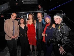 Pete Townshend, Maria Figuredo Kirke, Simon Kirke,May Pang, Genevieve Rafter Keddy