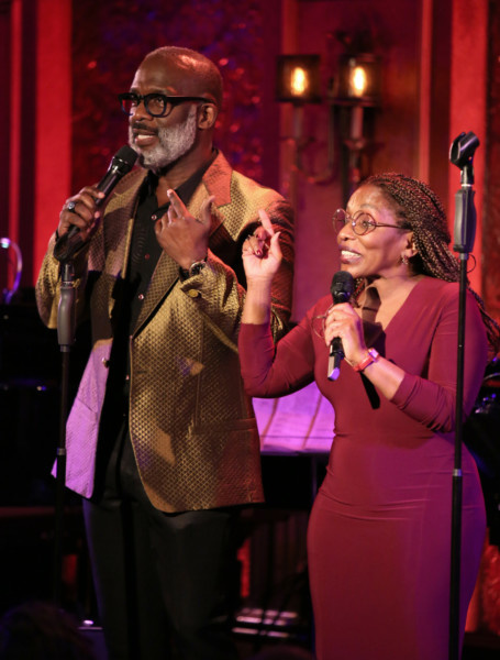 Stephanie Mills joined BeBe Winans Bring Born For This to Feinstein's/54 Below | Times Square Chronicles