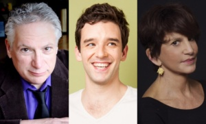 Harvey Fierstein, Michael Urie, Mercedes Ruehl