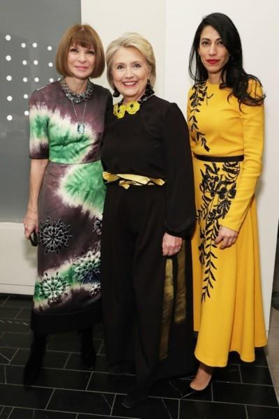 Anna Winter, Hillary Clinton, Huma Abidin