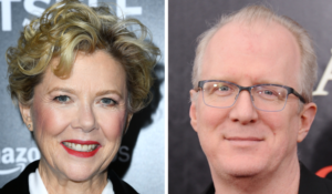 Annette Bening and Tracy Letts
