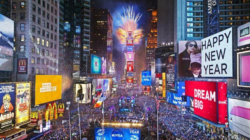 new years eve schedule for times square 2018 2019