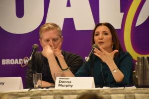 Anthony Rapp, Donna Murphy