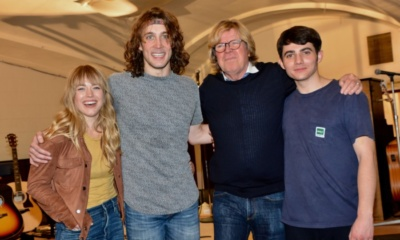 Erika Olson,Conor Ryan, Peter Noone Jonny Amies
