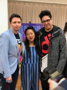 Will Roland, Stephanie Hsu, George Salazar