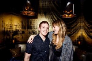 Ethan Slater, Kathryn Gallagher