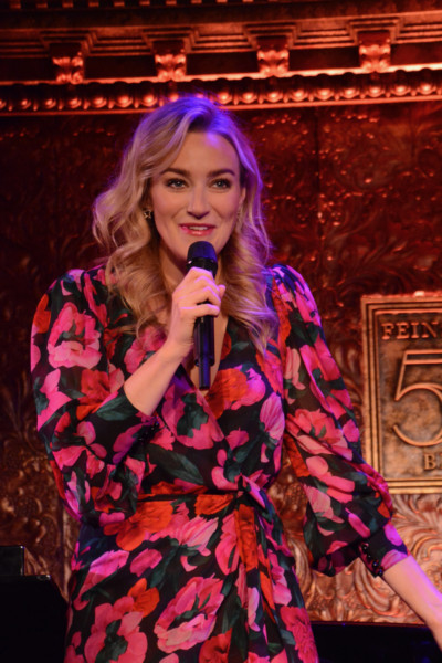 Betsy Wolfe Starts Her Cabaret Debut With All Bets Are Off – Times Square Chronicles