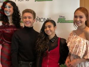 Taylor Ortega, Sean Giambrone, Ciara Wilson, Sadie Stanley