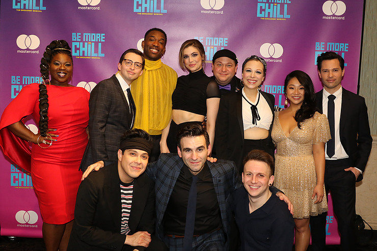 GMA Loves Be More Chill, Cast Recording and More Photo's From Opening Night – Times Square Chronicles