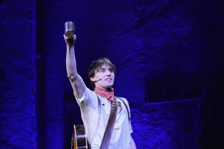 Lets Talk Hadestown With Reeve Carney on Their First Night of Previews – Times Square Chronicles