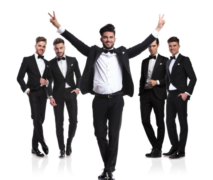 a8d4f1176deb 7 Formal Dress Ideas for the Groom and his Groom's Men – Times ...