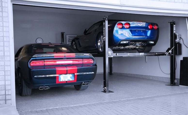 Perfect Home Garage Car Lift As Per Your Requirement
