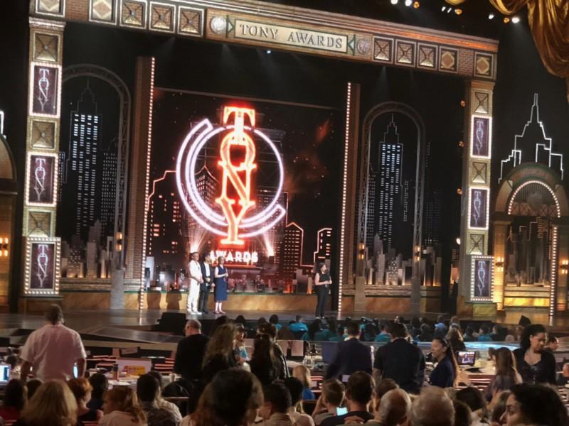 Tony Award Rehearsals – Times Square Chronicles