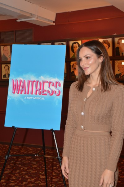 Katharine Mcphee Is Back In Waitress November 25th Times Square Chronicles