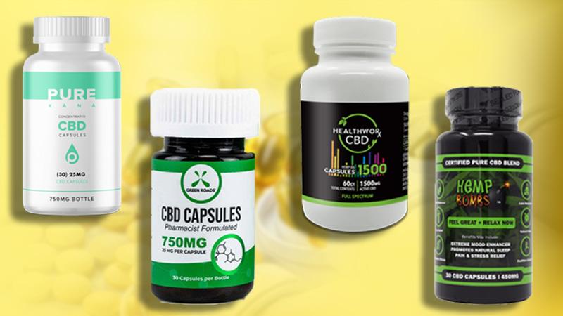 cbd oil pills for pain