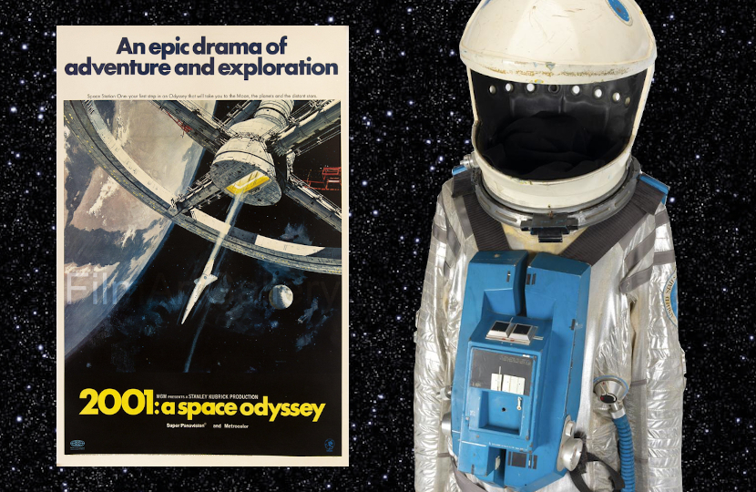 2001 space suit cover.'